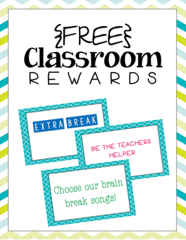 {FREE} Classroom Rewards: