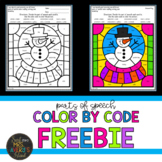 Color by Code Parts of Speech Worksheet