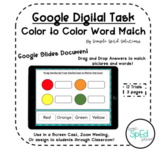 *FREE* Color to Color Word Matching Activity!- Pre-K/Speci