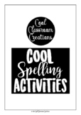 Cool Spelling Activities