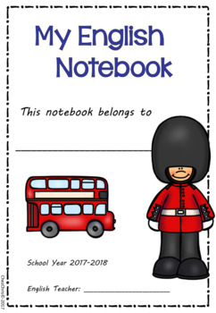 [FREE]Copybook / Notebook front page 2017-2018