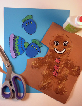 *FREE* Show & Retell Gingerbread Man (Galleta de Jengibre) Bilingual Craftivity