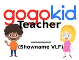 *FREE* Editable Gogokid Teacher Sign