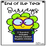 *FREE* End of Year Surveys Parent & Student Versions