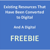 (FREE) & Existing Products Converted to Digital (August 2020)