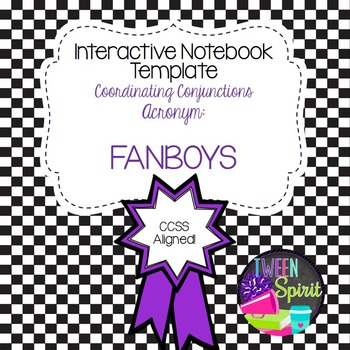 FANBOYS! Coordinating Conjunctions for Interactive Student