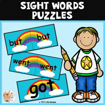 Sight Words / High Frequency Words Puzzle