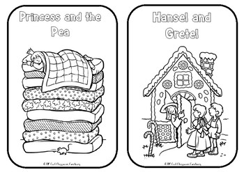 *FREE* Fairy Tale Colouring Pages