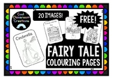 *FREE* Fairy Tale Colouring/Coloring Pages