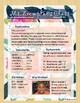Floral Pink Blue Teacher Stationary Binder Calendar Newsletter Thank You Card