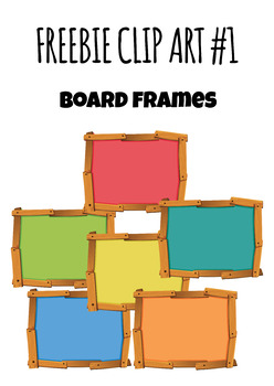 [FREE] Frames and Borders - Board | Wood Vol 1