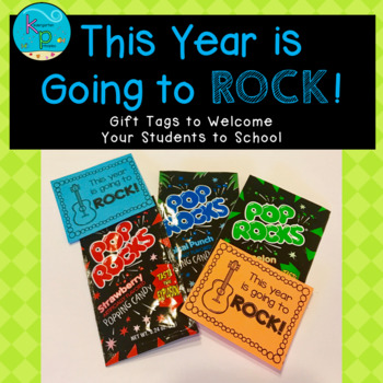**FREE** Gift Tags - This Year is Going to Rock!