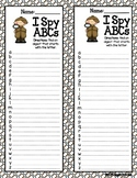 *FREE* Giggly Games I Spy ABCs List