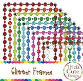 [FREE] Glitter Frames Borders Clip Art
