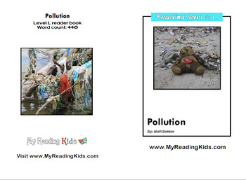 [FREE] Grade 3-4 Printable English Book: Pollution | Reading Comprehension |