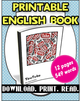 [FREE] Grade 4-5 Printable English Book YouTube | Reading Comprehension |