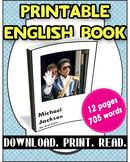 [FREE] Grade 5-6 Printable English Book Michael Jackson |R