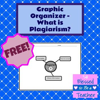 {FREE!} Graphic Organizer for Plagiarism Lessons