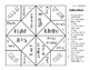 *FREE* Greek and Latin Roots Cootie Catchers