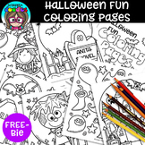 {FREE} Halloween Fun Coloring Pages