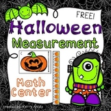 *FREE* Halloween Measuring Math Center