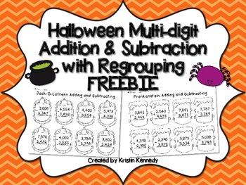 FREE Halloween Math