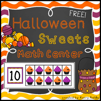 *FREE* Halloween Sweets Math Center