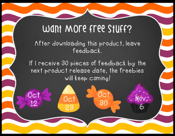 *FREE* Halloween Sweets Math Center