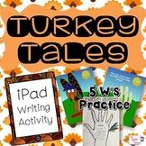 Thanksgiving iPad Hand Turkey Activity