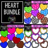 {FREE} Heart Bundle: Valentine Clipart {Creative Clips Clipart}