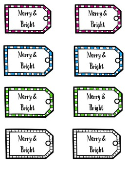 {FREE} Holiday Gift Tags