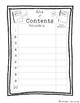 {FREE} Interactive Notebook Table of Contents