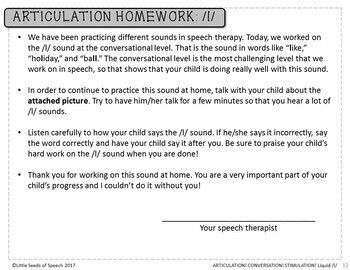 *FREE* L Sound - Picture Scenes for Targeting Speech Sounds in Conversations