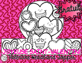 * FREE * La Saint-Valentin ♥ Headband Topper