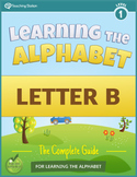 {FREE} Learning the Alphabet Letter B Workbook in COLOR