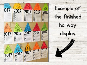 [FREE] Less & More New Year's Resolution Writing Display