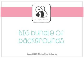 { FREE } Letty's Class Blog Big Bundle Backgrounds