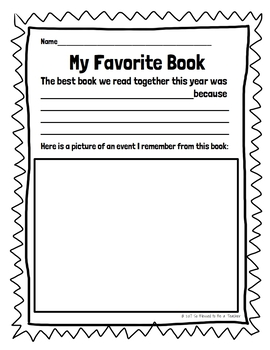 {FREE!} Library Worksheets for the End of the School Year