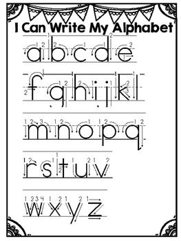 **FREE** Lower Case Alphabet Handwriting Practice!