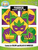FREE MARDI GRAS Quilt Color By Code Clipart {Zip-A-Dee-Doo-Dah Designs}