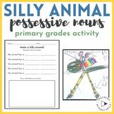 Make a Silly Animal Possessive Noun Practice Activity Worksheet