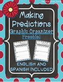 *FREE* Making Predictions Graphic Organizers (SPANISH Vers