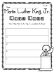 {FREE} Martin Luther King, Jr. Printables ~ MLK ~ Reading