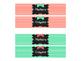 *FREE* Mint Coral Chalkboard Sterilite 3-Drawer Desktop Storage Labels