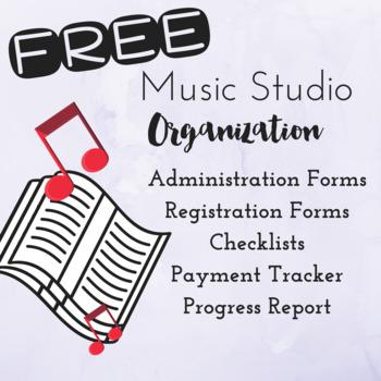 *FREE* Music Studio Organization