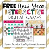 *FREE* New Year's Activities Interactive Digital Online Ga