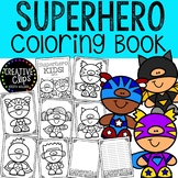 Superhero Coloring Pages {Made by Creative Clips Clipart}