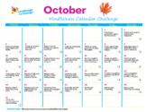 [FREE] October Mindfulness Calendar Challenge (2021)