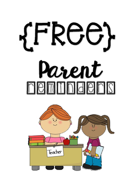 {FREE} Parent-Reminders