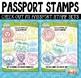 FREE Passport Booklet Template Bundle {Zip-A-Dee-Doo-Dah Designs}